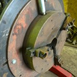 5. Used 1 Tonne Welding Positioner with Chuck