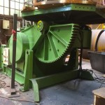 7. BODE 7.5 Tonne Welding Positioner with Adjustable Raising Frame