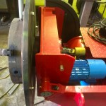 9. Used 1 Tonne Welding Positioner with Chuck