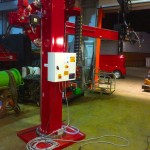 1. 2m x 2m Brand New Column and Boom Welding Manipulator with Lincoln Electric NA-5 Controller and Head