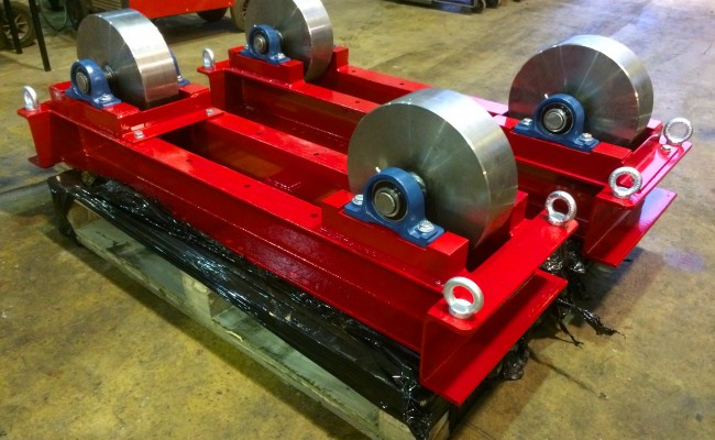 1. 5 Tonne Conventional Steel Wheeled Welding Rotators