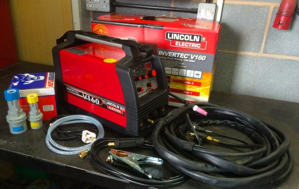 Lincoln Electric Invertec V160-T 2V 240V TIG Welder