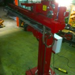 13. 2m x 2m Brand New Column and Boom Welding Manipulator with Lincoln Electric NA-5 Controller and Head