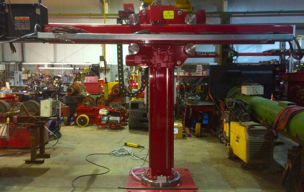 2 m x 2 m Brand New Column and Boom Welding Manipulator with Lincoln Electric NA-5 Controller
