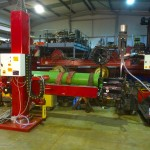 2. 2m x 2m Brand New Column and Boom Welding Manipulator with Lincoln Electric NA-5 Controller and Head