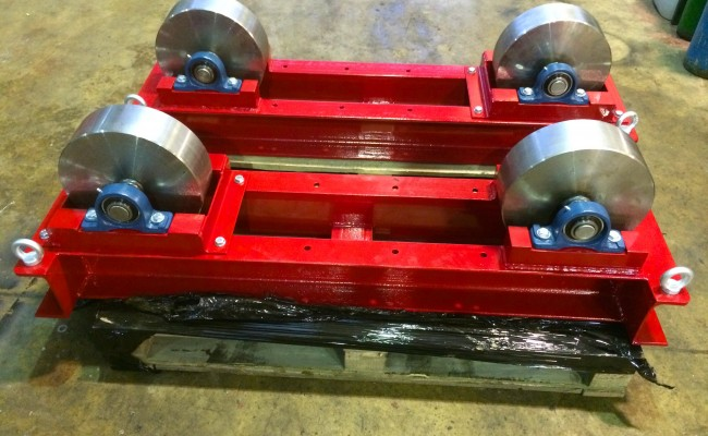 2. 5 Tonne Conventional Steel Wheeled Welding Rotators