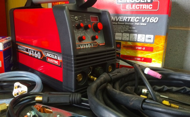 2. Lincoln Electric Invertec V160-T 240V TIG Welder
