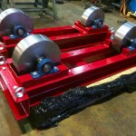 3. 5 Tonne Conventional Steel Wheeled Welding Rotators