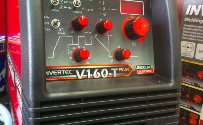 3. Lincoln Electric Invertec V160-T 240V TIG Welder
