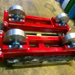 4. 5 Tonne Conventional Steel Wheeled Welding Rotators