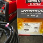 4. Lincoln Electric Invertec V160-T 240V TIG Welder