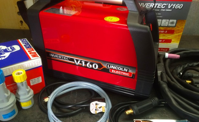 8. Lincoln Electric Invertec V160-T 240V TIG Welder