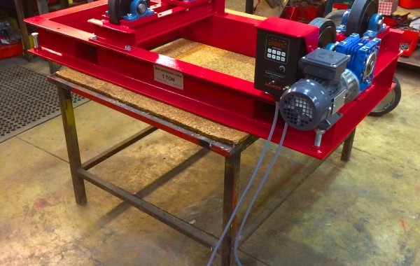 1 Tonne Pipe Rotators with Bespoke Adjustable Frame and In-House Manufactured