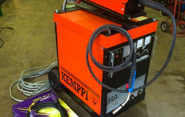 Reconditioned Kemppi RA 450W MIG Welder: Bargain package deal.