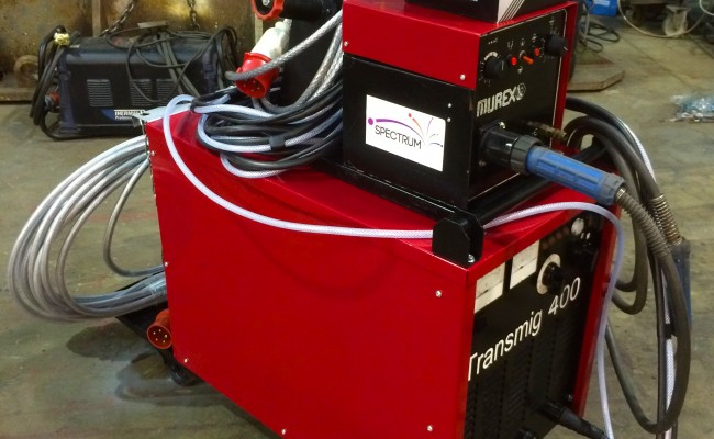1. Murex Transmig 305 Reconditioned MIG Welder