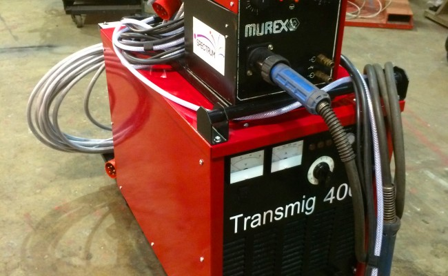 4. Murex Transmig 305 Reconditioned MIG Welder