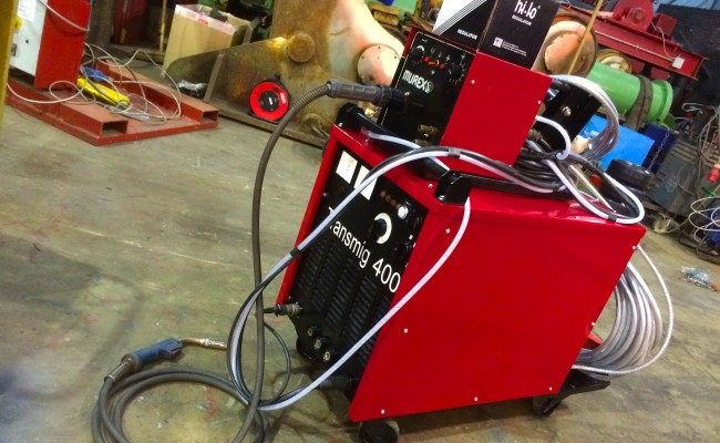 5. Murex Transmig 305 Reconditioned MIG Welder