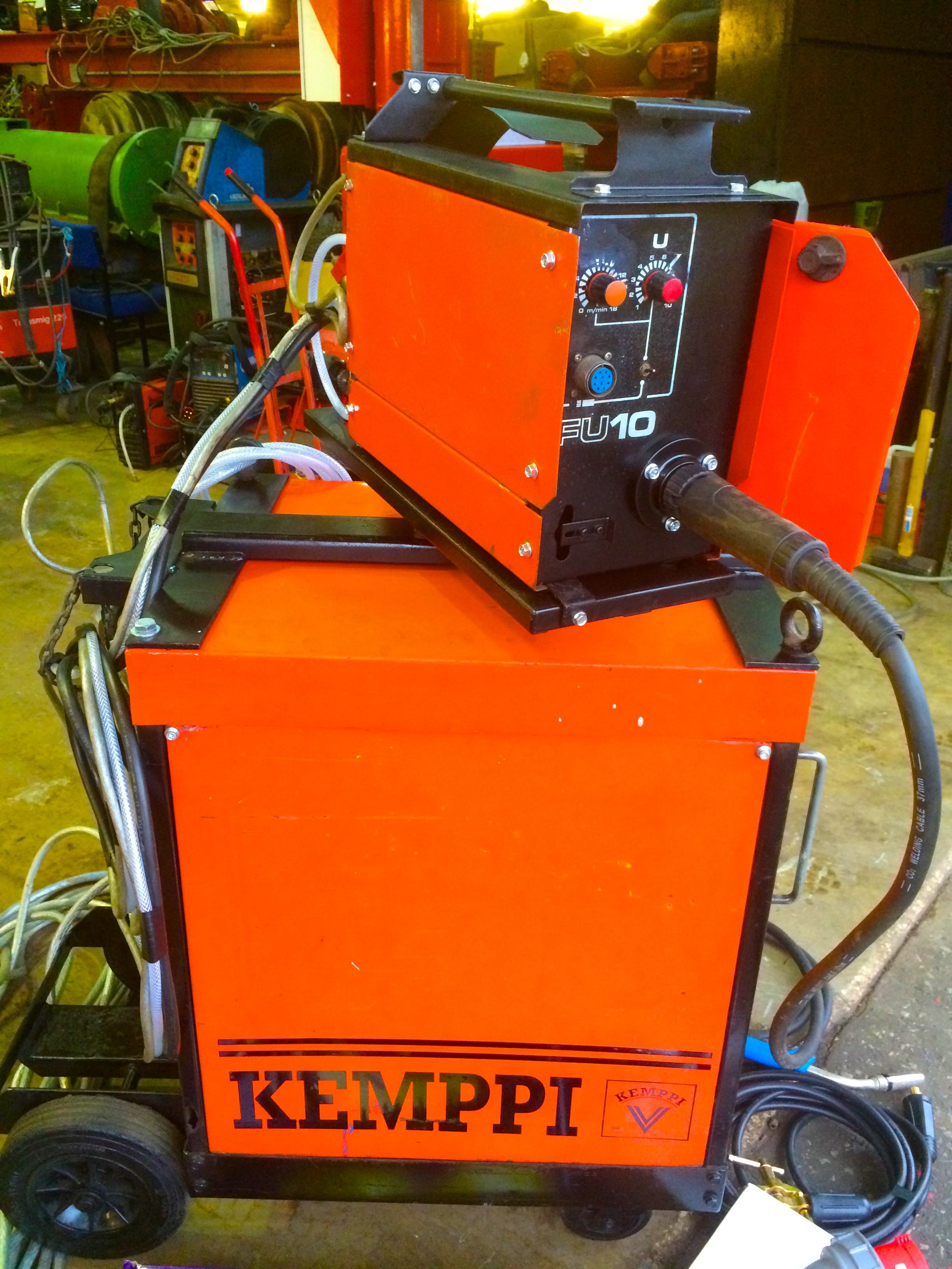 Cheap Mig Welder >> Reconditioned Kemppi RA 450W MIG Welder: Bargain package deal.