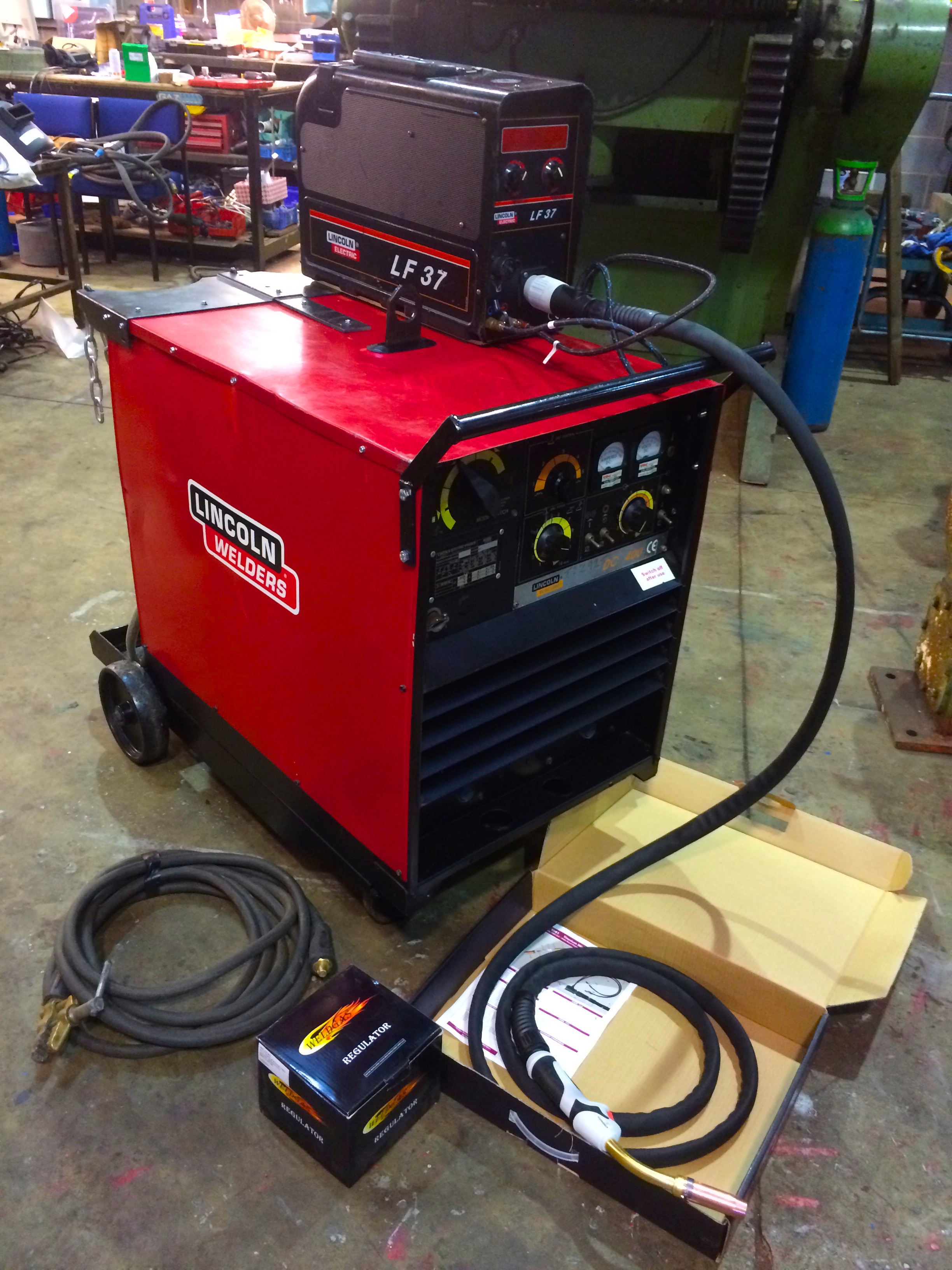 welder sp with welders lincoln mig electric welding itm cart