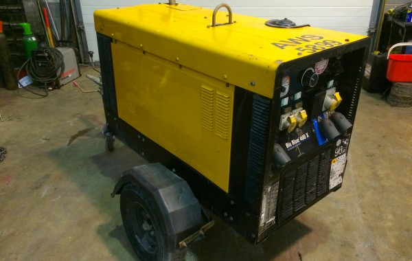 Used Miller Big Blue 400 X Diesel DC Welding Generator for Hire