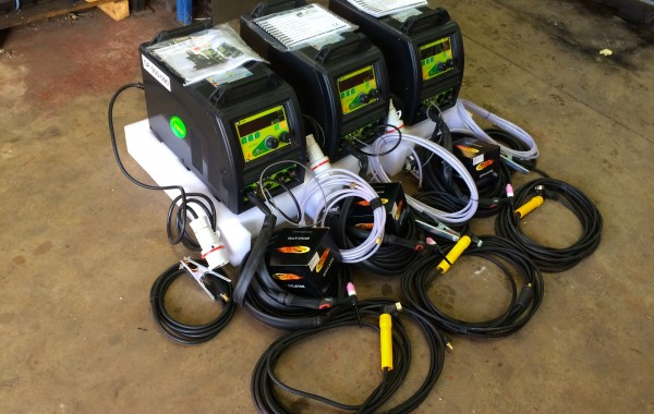 T&R Multi Wave 250 DC TIG Welder