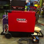 10. Lincoln Electric DC 400 MIG Welder