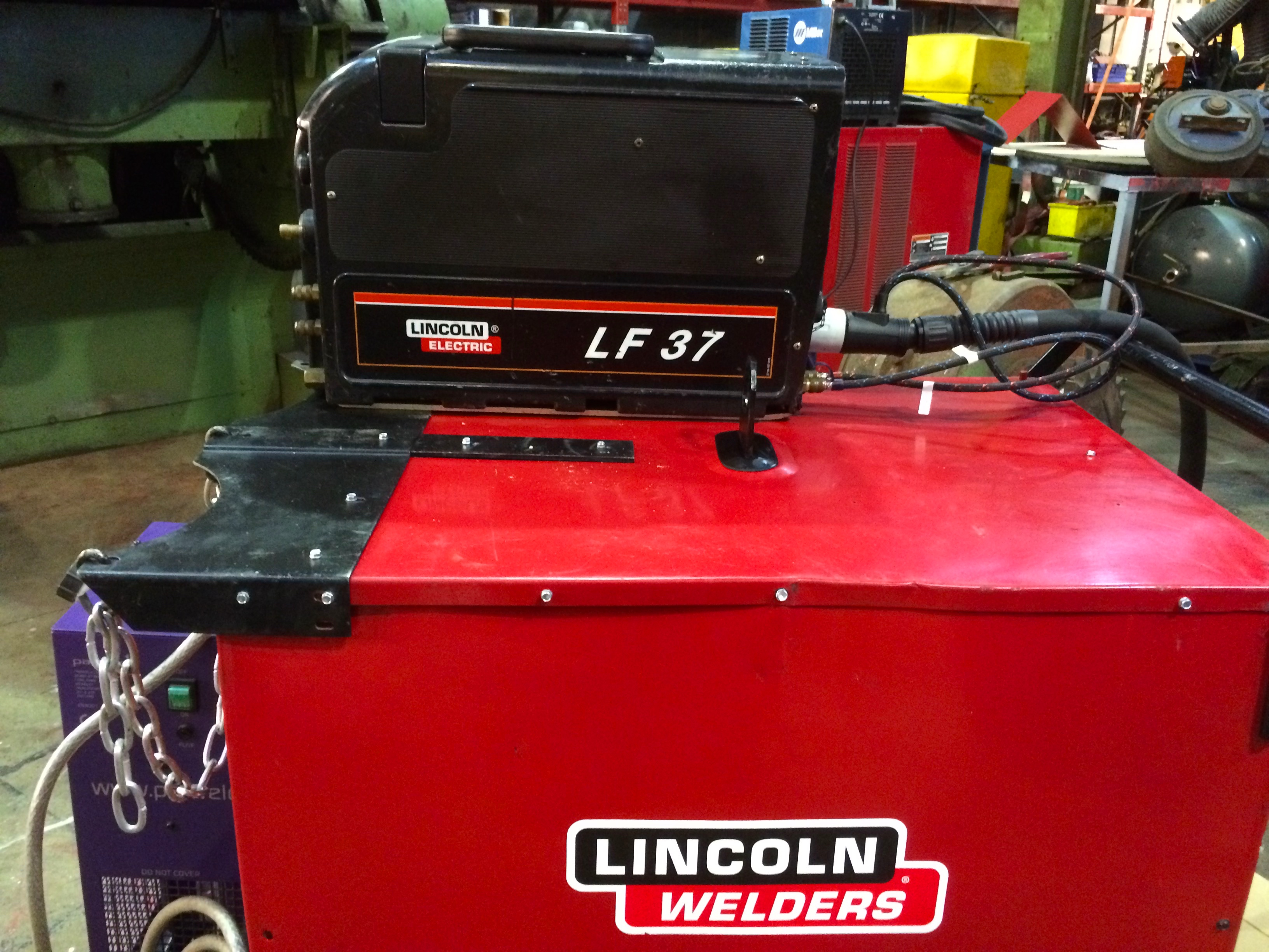 Used Lincoln Electric Idealarc Dc 400 Water Cooled Mig
