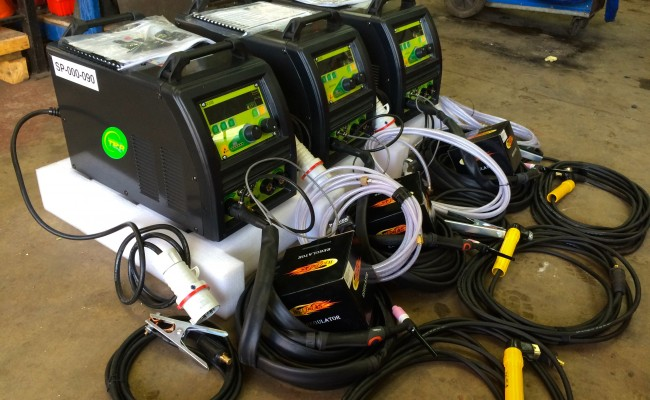3. TER Multi Wave 250 DC TIG Welder