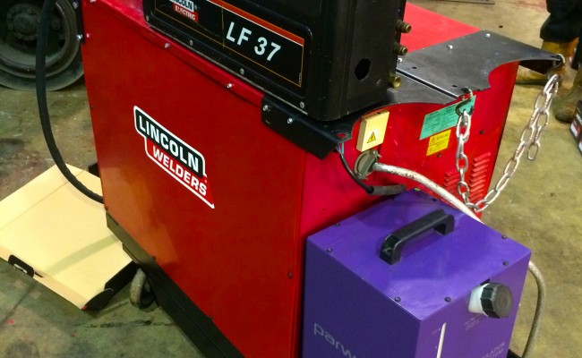 4. Lincoln Electric DC 400 MIG Welder