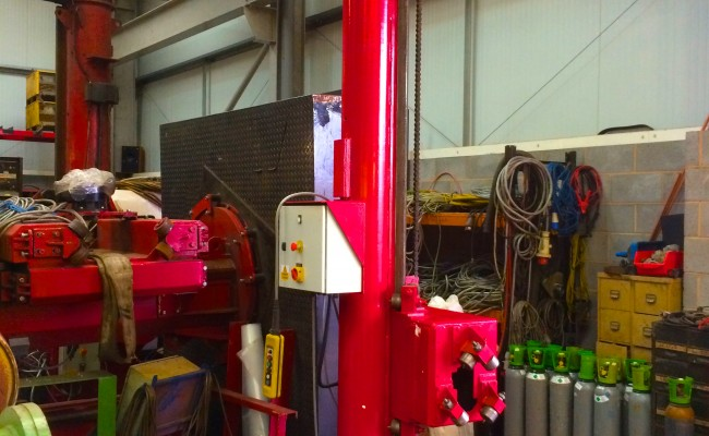 6. BODE 3 m x 3 m Column and Boom Welding Manipulator