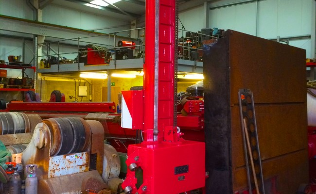 7. BODE 3 m x 3 m Column and Boom Welding Manipulator