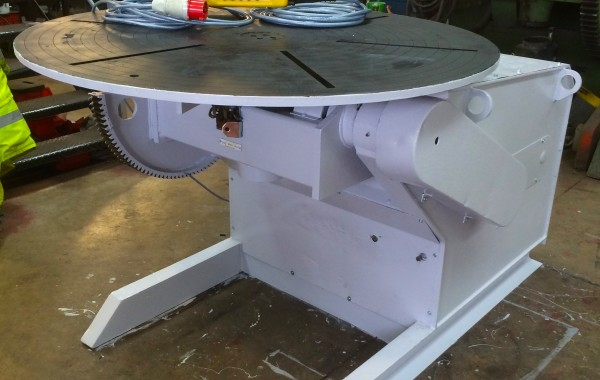 BODE 3 Tonne Welding Positioner stripped down and reconditioned