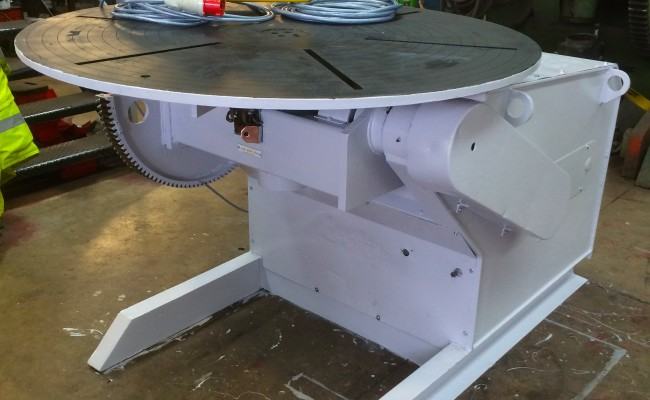 1. BODE 3 Tonne Welding Positioner Reconditioned