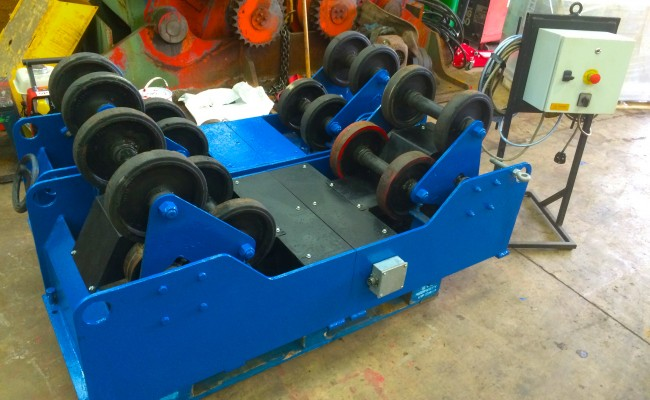 1. MPE 5 Tonne SAR Self Aligning Welding Rotators