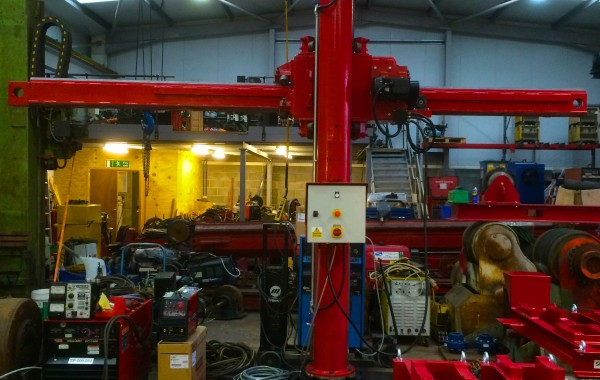 Reconditioning BODE 3 m x 3 m Column and Boom Welding Manipulator