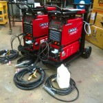 13. Lincoln Electric Invertec 400TPX & Cool Arc 46 Water Cooled TIG Welding Machine