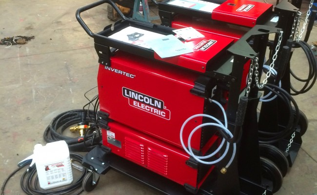 14. Lincoln Electric Invertec 400TPX & Cool Arc 46 Water Cooled TIG Welding Machine