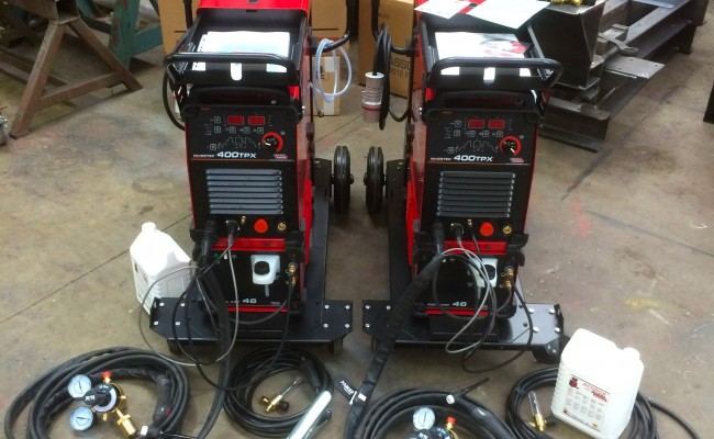 15. Lincoln Electric Invertec 400TPX & Cool Arc 46 Water Cooled TIG Welding Machine
