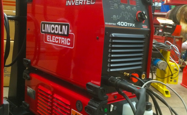 16. Lincoln Electric Invertec 400TPX & Cool Arc 46 Water Cooled TIG Welding Machine