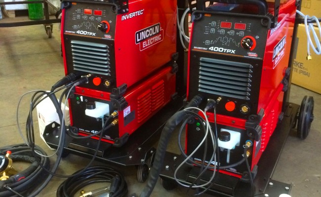 2. Lincoln Electric Invertec 400TPX & Cool Arc 46 Water Cooled TIG Welding Machine