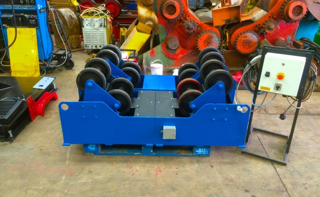 2. MPE 5 Tonne SAR Self Aligning Welding Rotators