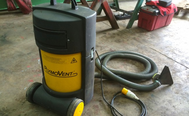 2. PlymoVent Fume Extractor 110V