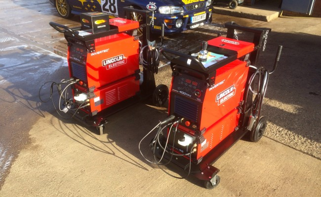21. Lincoln Electric Invertec 400TPX & Cool Arc 46 Water Cooled TIG Welding Machine