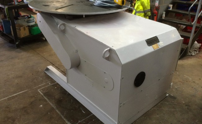 3. BODE 3 Tonne Welding Positioner Reconditioned