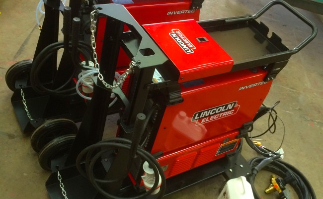 3. Lincoln Electric Invertec 400TPX & Cool Arc 46 Water Cooled TIG Welding Machine