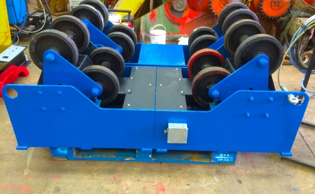 3. MPE 5 Tonne SAR Self Aligning Welding Rotators