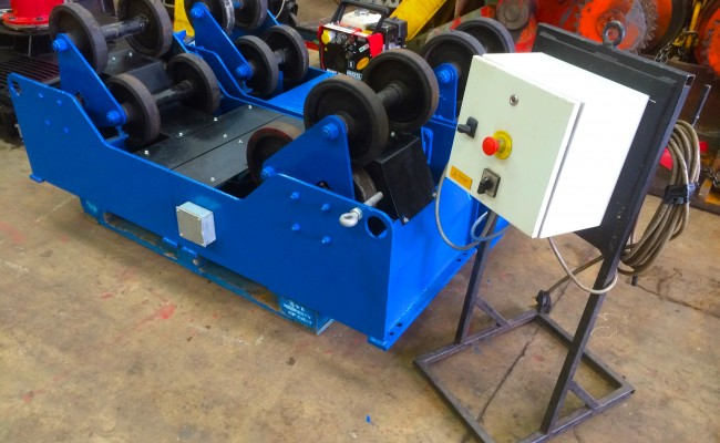 4. MPE 5 Tonne SAR Self Aligning Welding Rotators