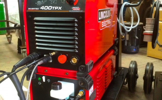 5. Lincoln Electric Invertec 400TPX & Cool Arc 46 Water Cooled TIG Welding Machine