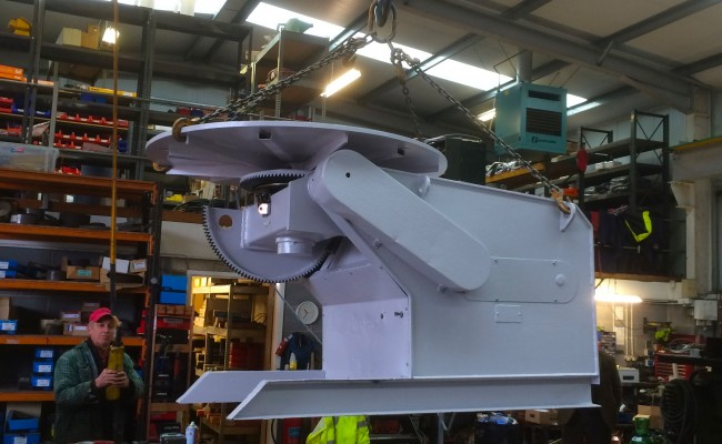 6. BODE 3 Tonne Welding Positioner Reconditioned
