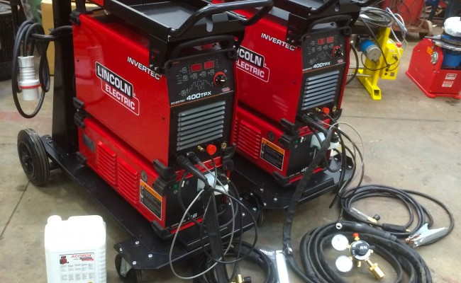 6. Lincoln Electric Invertec 400TPX & Cool Arc 46 Water Cooled TIG Welding Machine